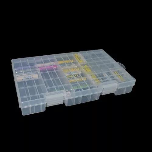 Casa multifuncional caixa de armazenamento de bateria pp