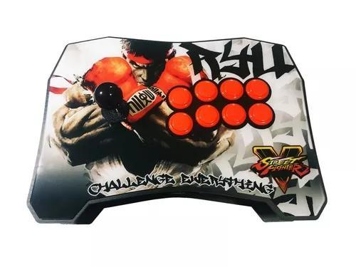 Controle arcade pc/play3/play4/rasp full sanwa original