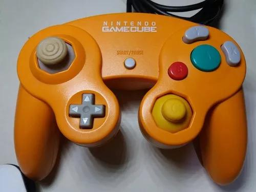 Controle original game cube laranja,nintendo gamecube
