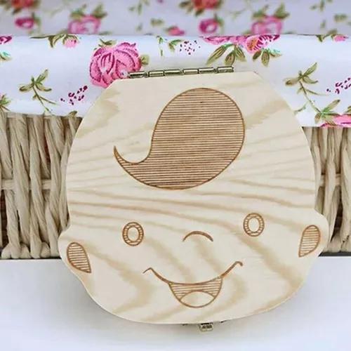 Criador bebê teeth caixa salvador armazenamento caixa de