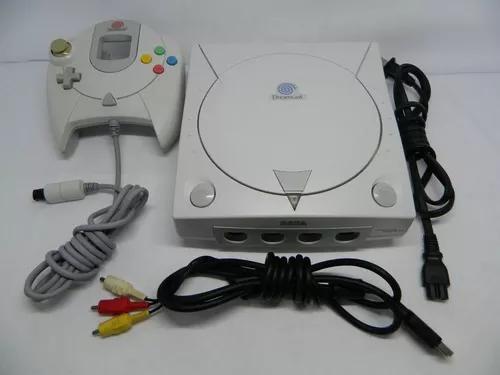 Dreamcast - sega - controle e cabos originais - funcionando
