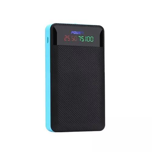 Dual usb 4x 18650 bateria case banco de potncia diy kit