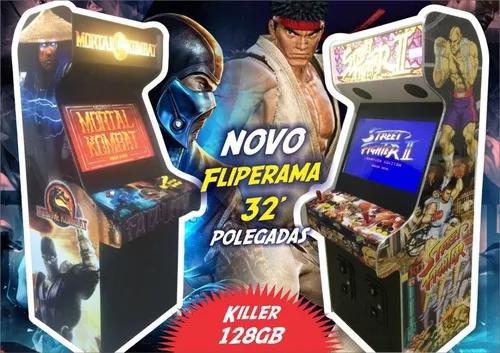 Fliperama 32 Killer 128gb Malvadeza