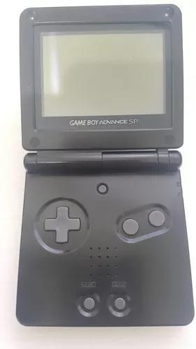 Game boy advanced sp preto ags 001