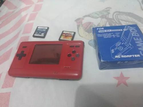 Game boy ds advance modificado vermelho top fotos reais