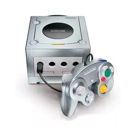Game cube americano travado 110 volts tudo original