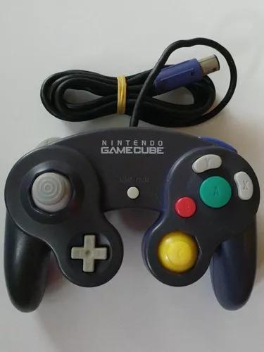 Game cube: controles originais nintendo! novinho + garantia!