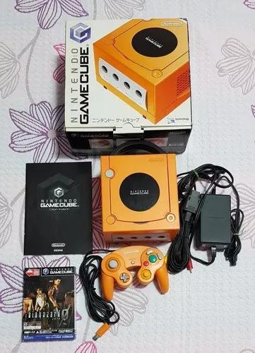 Game cube laranja japonês mai 1 jogo original.