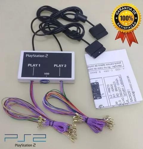 Kit para montar multijogos fliperama ps1 ps2 (play2)