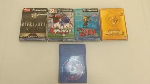 Lote 5 jogos originais gc t