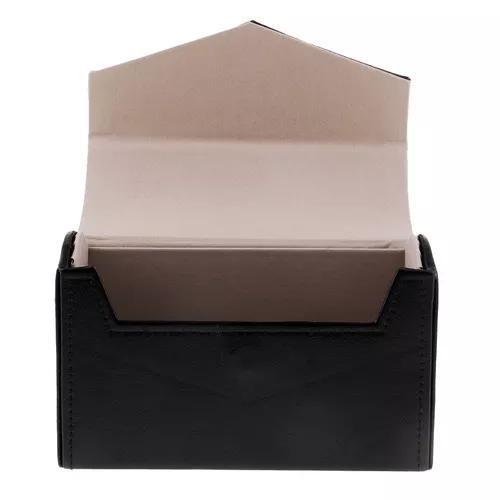 Magideal pu caixa armazenamento para 15 laje capsule moeda e