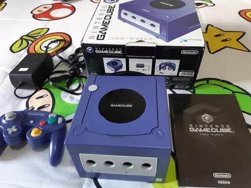 Nintendo game cube original japonês completo na caixa c909