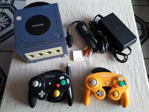 Nintendo Gamecube - 2 Controles, 10 Jogos Orig.e M