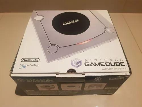 Nintendo gamecube silver zerado na caixa desbloqueado!!