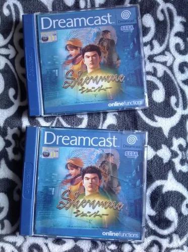 Shenmue original de dreamcast - jogo impecável