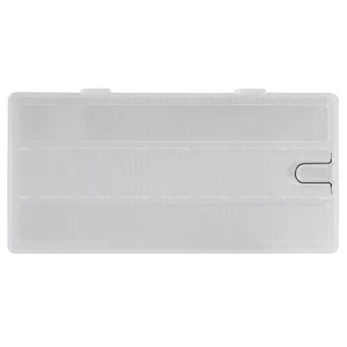 Transparente bateria caso titular plástico armazenamento ca