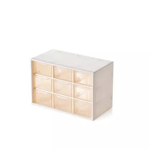 Transparente jóias tipo transparente armazenamento caixa