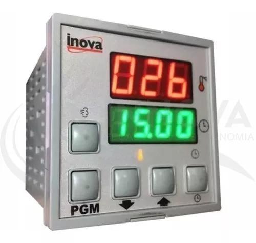 Controlador digital p/ forno a gas progas tedesco e outros..