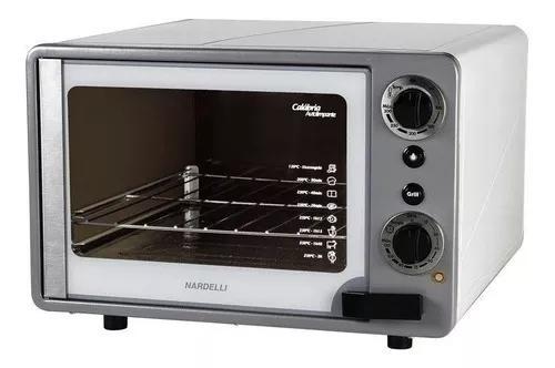 Forno elétrico nardelli new calábria grill, 45l, branco