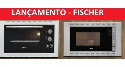 Kit fischer forno 44l + micro ondas 25lt -220v