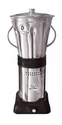 Liquidificador industrial 6 litros baixa rotação inox