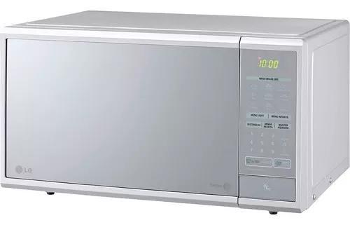 Micro-ondas lg easy clean prata ms3059la 30 litros 220v