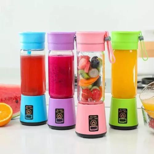 Mini liquidificador portátil recarregável usb juice cup