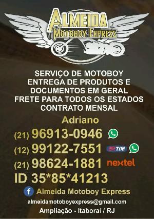 Serviços de motoboy e fretes