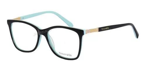 Armação oculos de grau tiffany & co. tf2116 b acetato