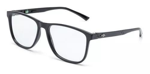 Armação oculos grau mormaii jeri m6043a0255 preto brilho