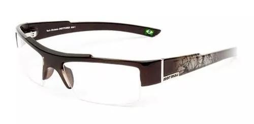 Armação para óculos de grau mormaii atol 126770152 marrom