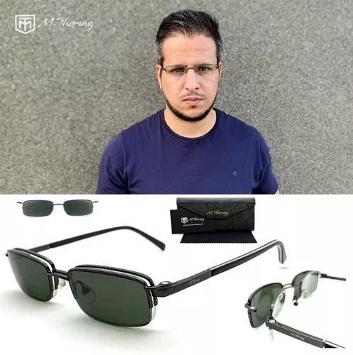 Armação Óculos Grau E Solar Masculino Mt128 Clip On