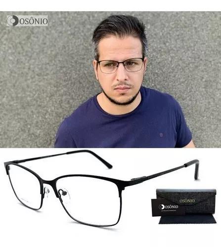Armação óculos grau masculino original osônio os139