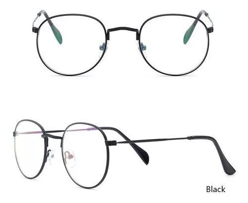 Armação óculos grau oval lançamento retro vintage geek