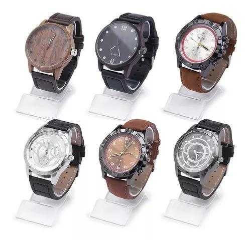 Kit 10 relógios masculino vários modelos atacado revenda