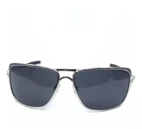 Oculos de sol inmate prata fume metal polarizado