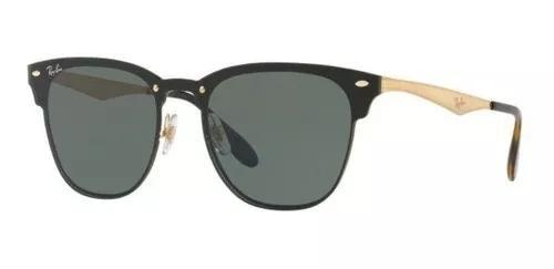 Oculos sol ray ban blaze clubmaster rb3576n 043/71 47mm pret