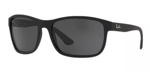 Oculos Sol Ray Ban Rb4301 601s87 62mm Preto Fosco Lent Cinza