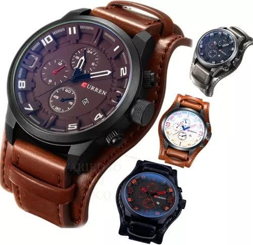 Relógio masculino curren mod.8225 original