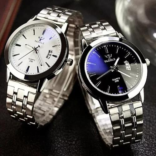 Relógio masculino original yazole top barato caixa brinde