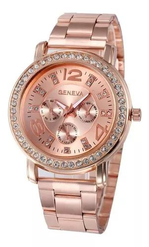 Relógio pulseira aço inoxidável f