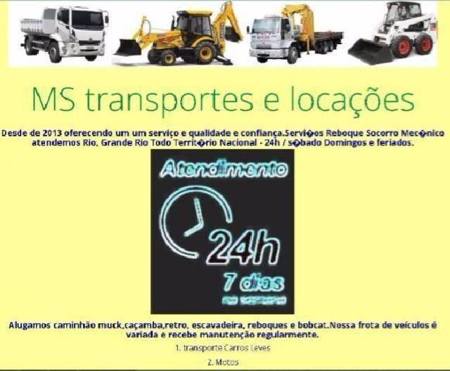 Transportes e reboque