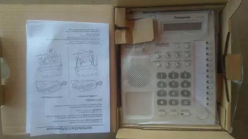02 telefones pabx panasonic kx-t7730x - novos