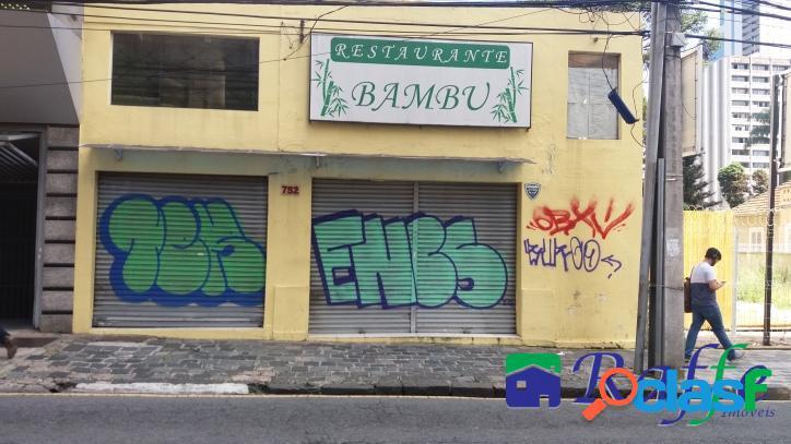 Imóvel comercial - rua emiliano perneta