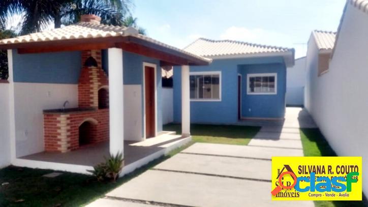 Casa em itaipuaçu 2 qts, espaço gourmet - r$ 280 mil