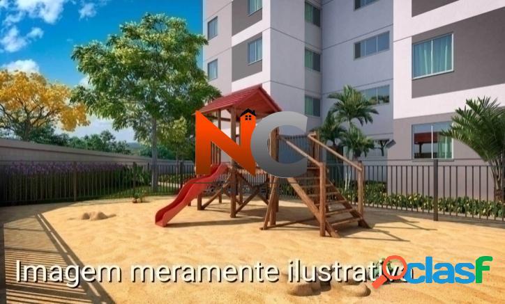 Reserva do Campo Apt com 2 dorms, Campo Grande, Rio de Janeiro -R$ 144 mil. 1