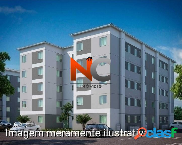 Reserva do Campo Apt com 2 dorms, Campo Grande, Rio de Janeiro -R$ 144 mil. 2
