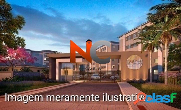 Reserva do Campo Apt com 2 dorms, Campo Grande, Rio de Janeiro -R$ 144 mil. 3