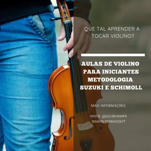 Aulas particulares de violino básico 1