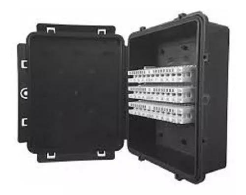 Caixa de distribuição modular 30 pares multitoc